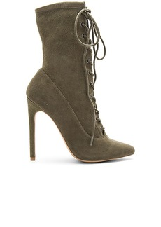 Steve Madden Satisfied Bootie in Olive. - size 6 (also in 10,5.5,6.5,7,7.5,8,8.5,9,9.5)