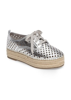 Steve Madden Shadow Perforated Platform Oxford (Women)