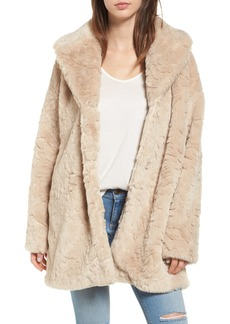Steve Madden Shaggy Faux Fur Coat