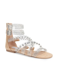 Steve Madden Shift Embellished Gladiator Sandal (Women)