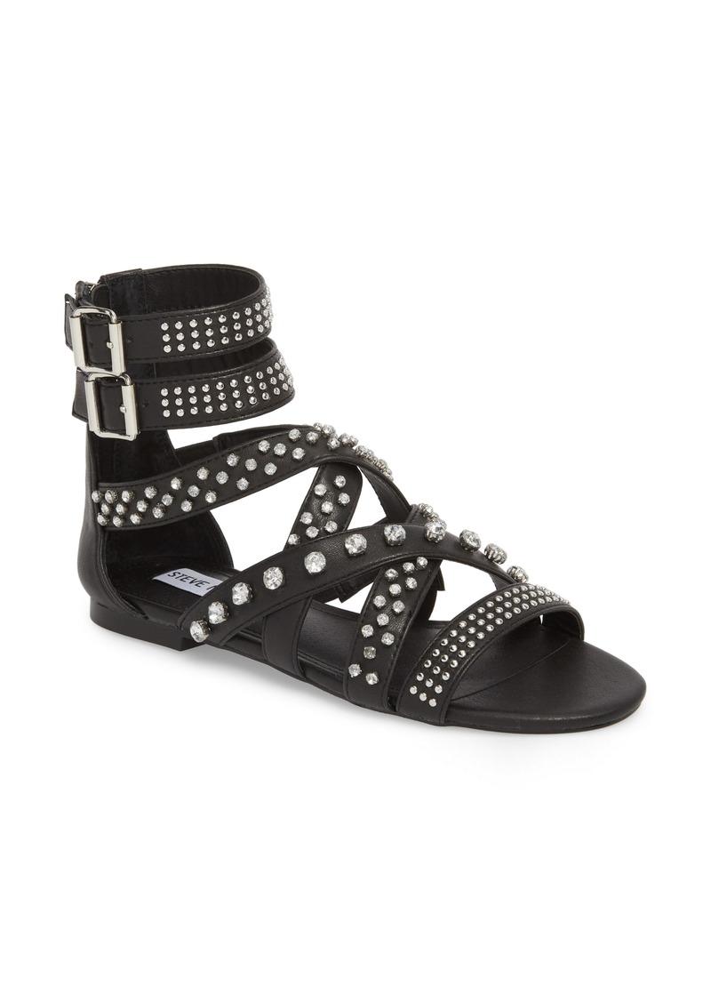 6263c8bd37d Steve Madden Steve Madden Shift Embellished Gladiator Sandal (Women ...