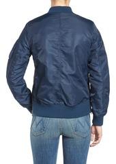 Steve Madden Side Zip Bomber Jacket