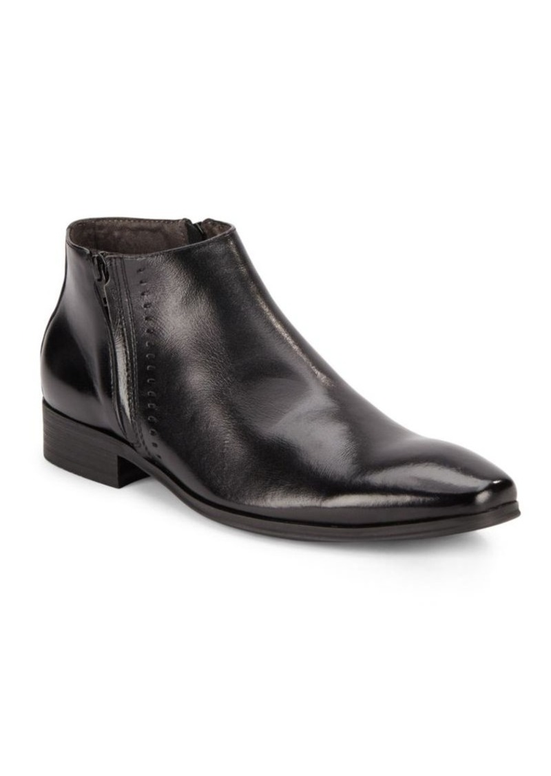 Steve Madden Side Zipper Ankle Boots