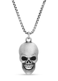 Steve Madden Skull Pendant Necklace