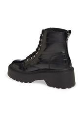 Steve Madden Slasher Combat Platform Boot (Women)