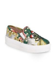 Steve Madden Slick-P Platform Slip-On Sneaker (Women)