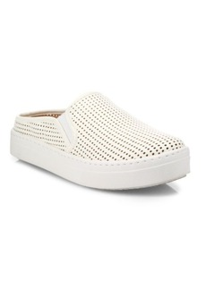 Steve Madden Sliip Perforated Faux Leather Mule Sneakers