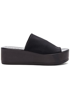 Steve Madden Slinky Platform Sandal in Black. - size 10 (also in 5,6,7,8,9)