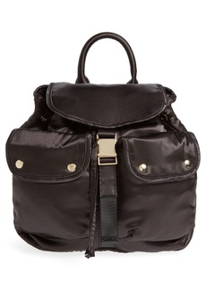 Steve Madden Small Satin Backpack