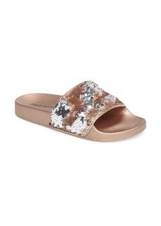 Steve Madden Softey Sequin Slide Sandal (Women)
