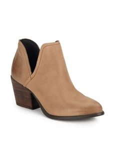 Steve Madden Solid Leather Slip-On Boots
