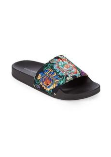 Steve Madden Soriel Embroidered Slide Sandals
