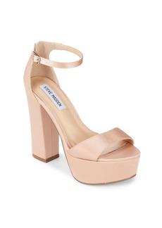 Stacked heel Platform Sandals