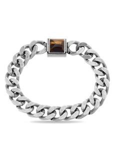 Steve Madden Stainless Steel Chain Bracelet