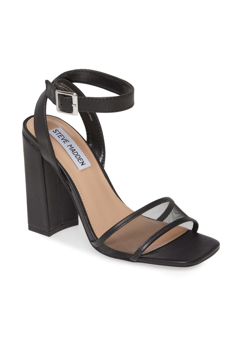 Steve Madden Strategy Ankle Strap Sandal (Women)