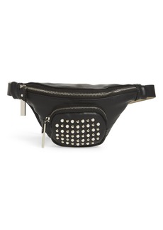 Steve Madden Stud & Imitation Pearl Belt Bag