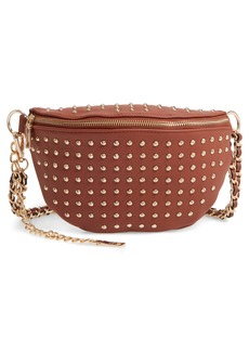 Steve Madden Studded Faux Leather Belt Bag