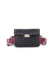 Steve Madden Studded Multicolored Strap Belt Bag