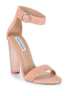 Steve Madden Suede Ankle-Strap Sandals