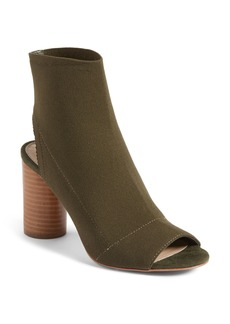Steve Madden Sunnie High Peep Toe Bootie (Women)