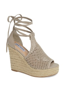 Steve Madden Sure Platform Wedge Sandal (Women)