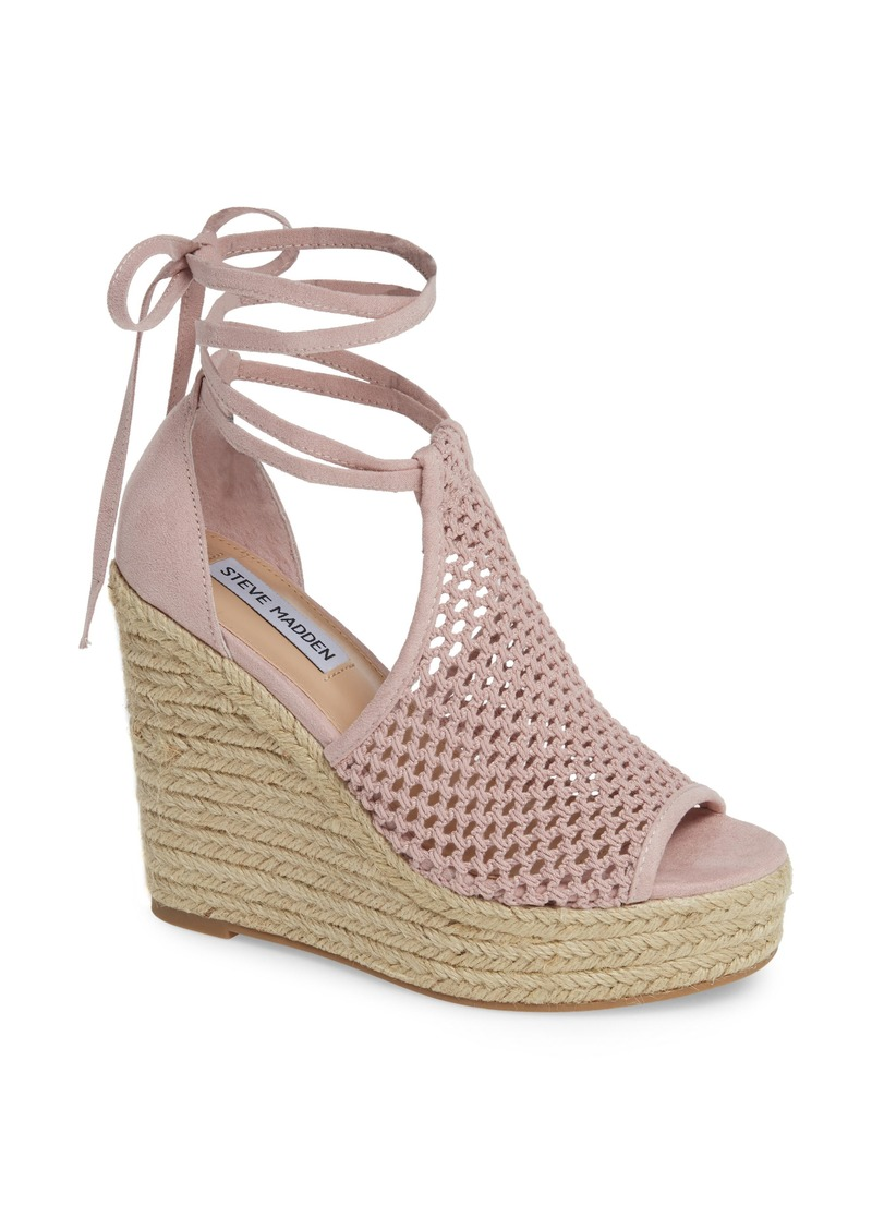 Steve Madden Sure Platform Wedge Sandal (Women)