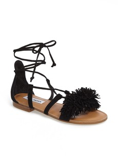 Steve Madden Swizzle Lace-Up Sandal (Women)