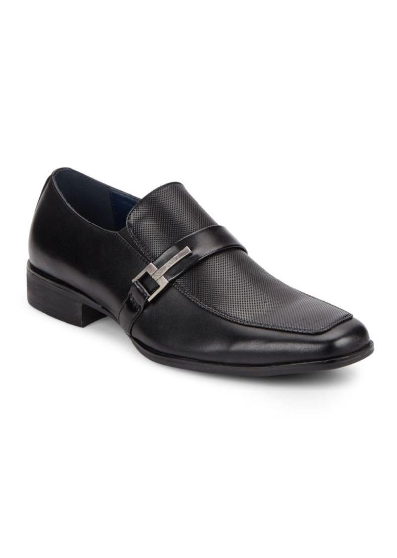 Steve Madden Teesr Leather Loafers