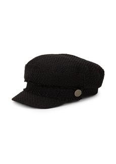 Steve Madden Textured Baker Boy Hat