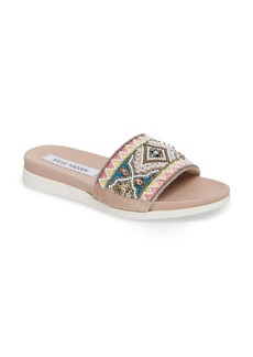 Steve Madden Thalia Beaded Slide Sandal (Women)