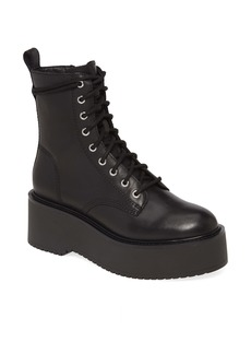 Steve Madden Twister Lace-Up Boot (Women)