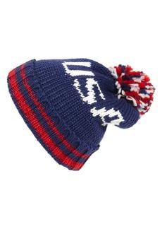 Steve Madden 'USA' Knit Beanie