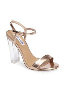 Steve Madden Vallery Clear Heeled Sandal (Women)