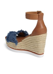 Steve Madden Valley Fringed Platform Wedge Sandal (Women)