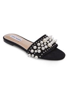 Steve Madden Vanessa Suede Slip-On Sandals