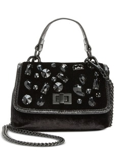 Steve Madden Velvet Valera Top-Handle Mini Crossbody
