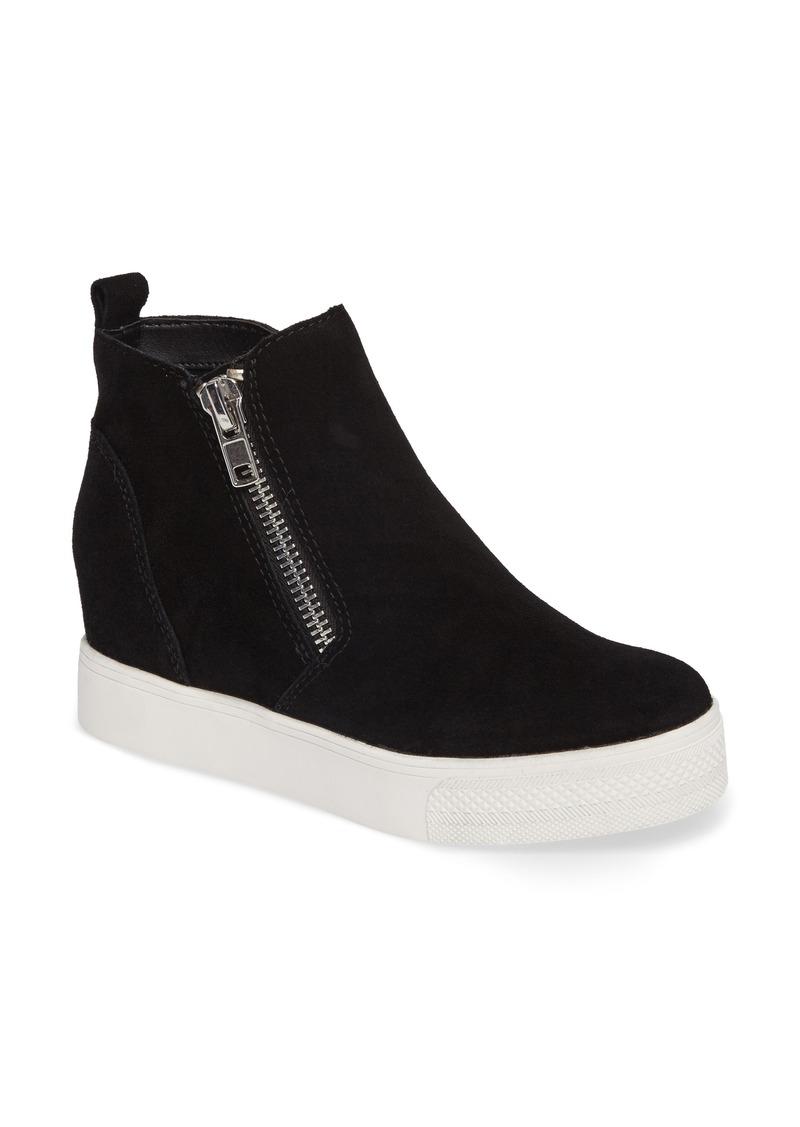 Steve Madden Wedgie High Top Platform Sneaker (Women)