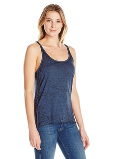 Steve Madden Women's 2-Tone Burnout Ladder Back Tank  M