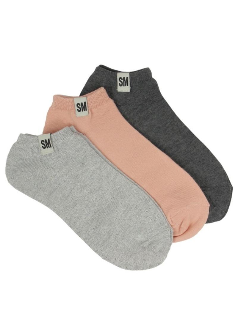 Steve Madden Women's 3-Pack Low-Cut Socks, Online Only