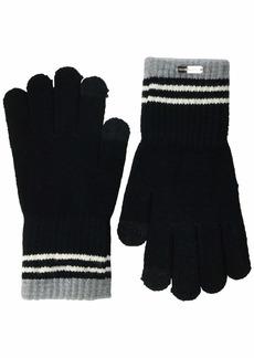 Steve Madden Women's 3 Stripe Magic Glove black