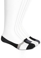 Steve Madden Women's 5-Pack High Vamp Foot Liner, Online Only