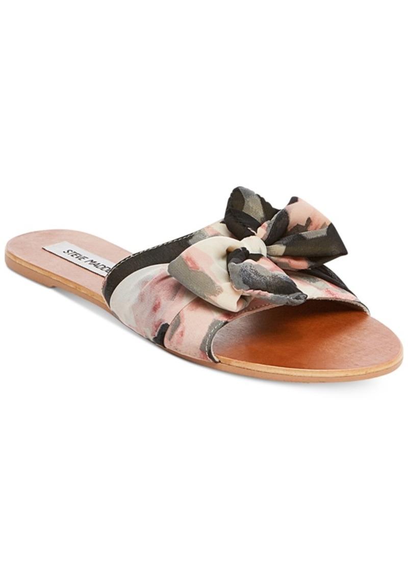 800910309b2fb6 Steve Madden Steve Madden Women s Alex Knot Slide Sandals