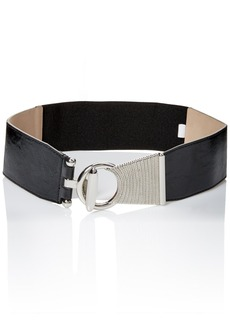 Steve Madden Women's Asymetric Stretch Belt  Small/Medium