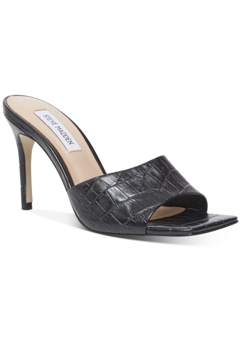 Steve Madden Women's Avoid Square-Toe Sandals