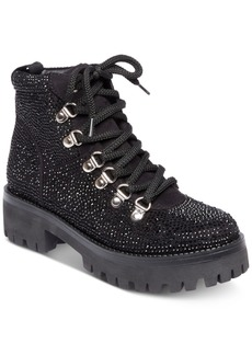 Steve Madden Women's Bam Hiker Booties