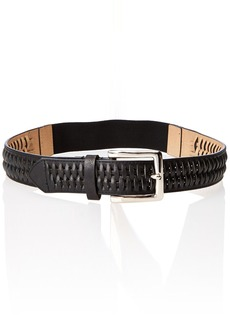 Steve Madden Women's Braided Buckle Stretch Belt  Medium/Large