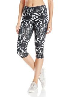 Steve Madden Women's Bridge Print Capri Legging  XL