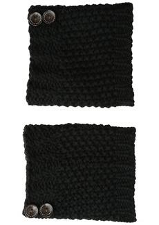 Steve Madden Women's Button Crochet Boot Cuff
