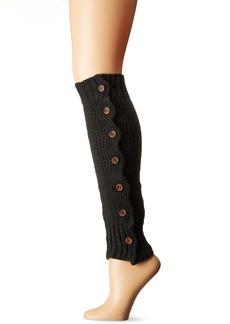 Steve Madden Women's Button Side Rib Leg Warmer