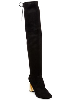 Steve Madden Women's Candle Over-The-Knee Block-Heel Boots Women's Shoes